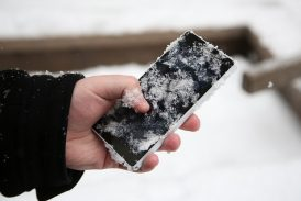 Cold Weather Makes Your Mobile Battery Discharge Faster