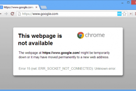 Cannot open Google or Gmail in Chrome Error 15 Fix