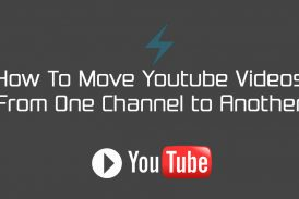How To Move Youtube Videos  From One Channel to Another