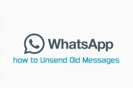 Whatsapp Unsend Old Messages